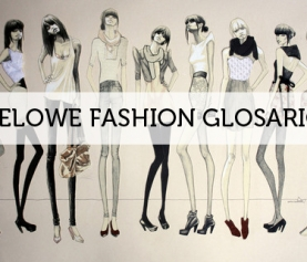 WELOWE FASHION GLOSARIO