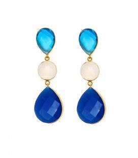 Pendientes Zahara Azul